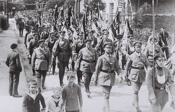 Aufmarsch der SA in Osterholz