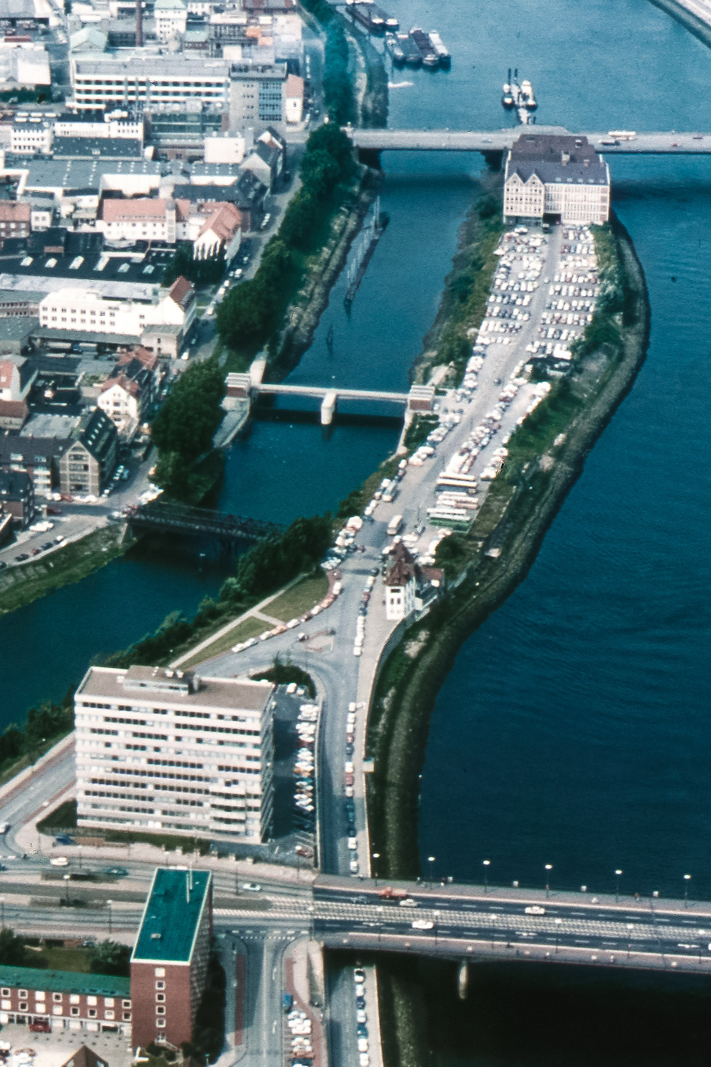 Hubschrauberflug 1971 / Fotoarchiv LIS, G. Rittstieg