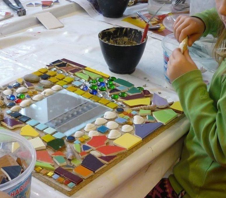 Mosaikwerkstatt für Kinder