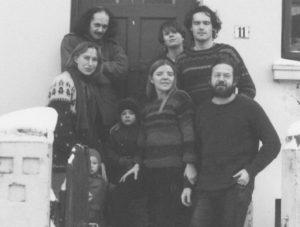 Gruppenfoto mit Cecilie Eckler-von Gleich