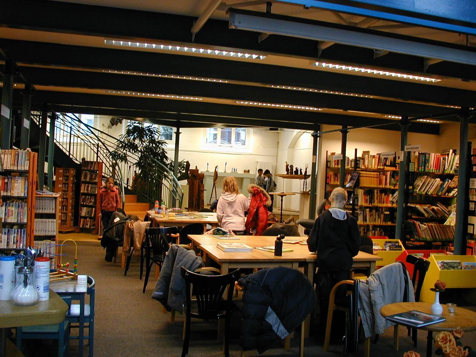 Bibliothek im Kulturhaus Walle Brodelpott