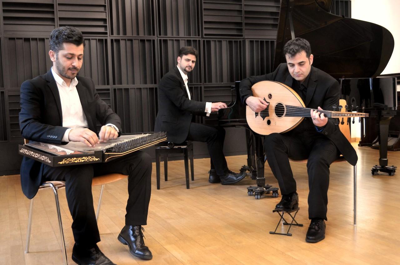 Awtar Trio | GLOCKE Sitzkissenkonzert on tour