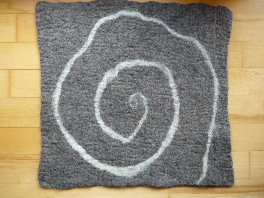 Filzteppich der Filzwerkstatt Brodelpott