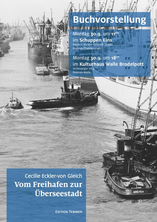 """Buchvorstellung """"Vom Freihafen zur Überseestadt"""""""