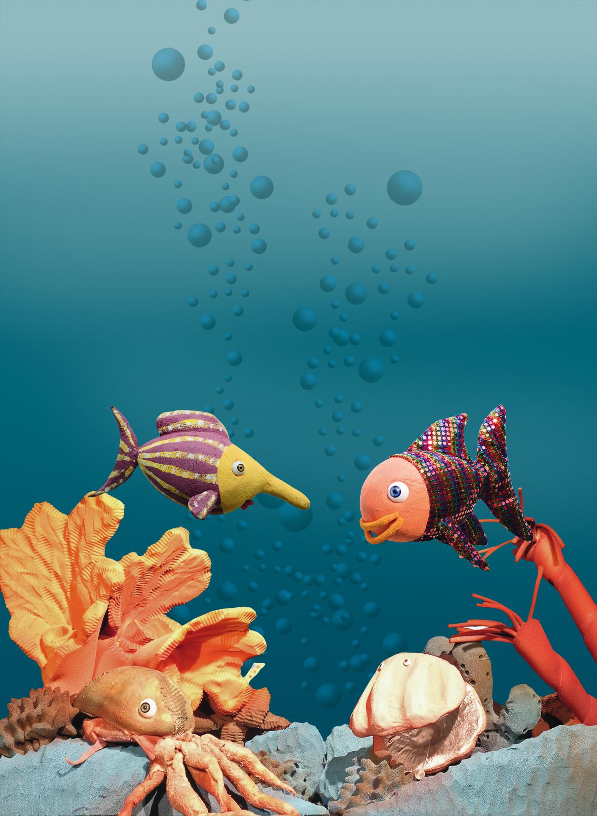 Der Regenbogenfisch - Figurentheater