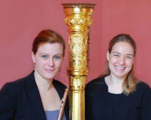 Gudrun Wagner und Louise Sen