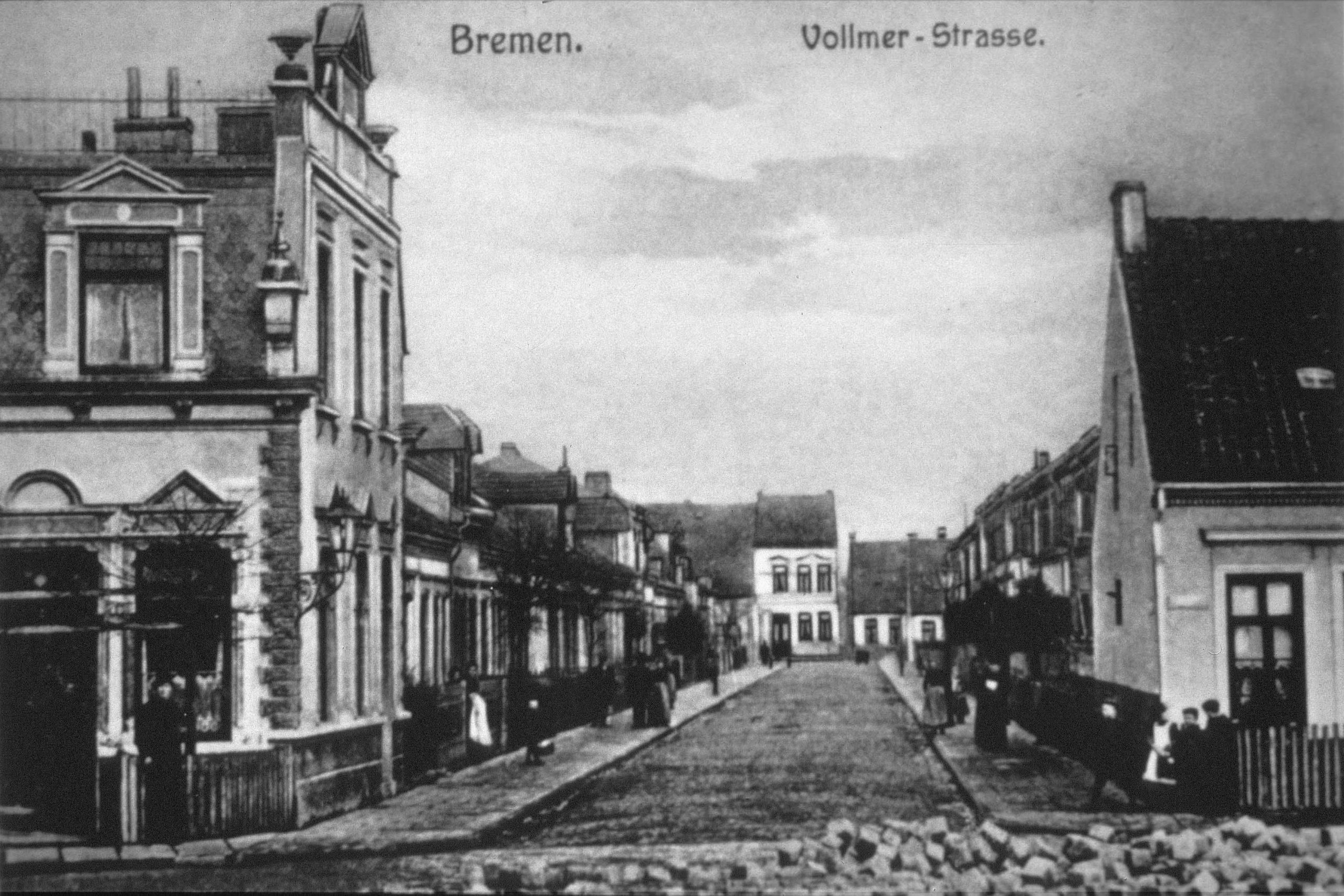 Vollmer-Strasse vor 100 Jahren