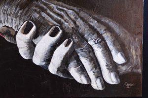 Alois Steiner - Hände Malerei