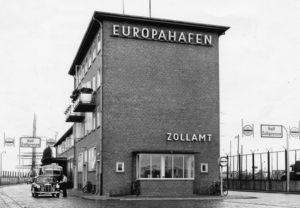 Europahafen und Zollamt