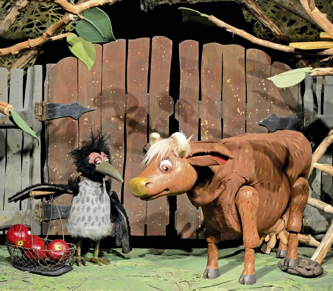 Mama Muh - Figurentheater für Kinder