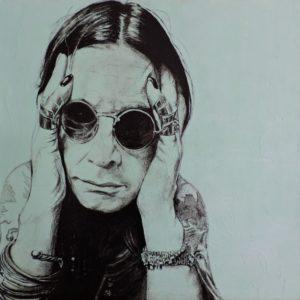"""""""Ozzy"""" Portrait von Rainer Schmidt"""