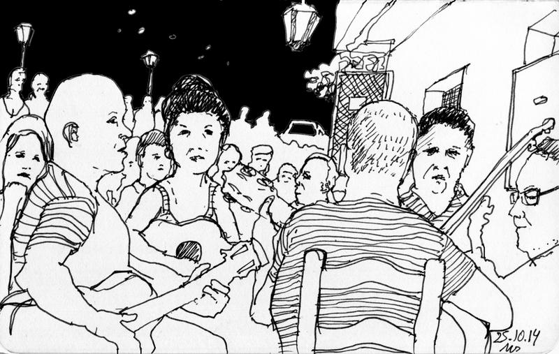 Manfred Schlösser - Urban Sketching