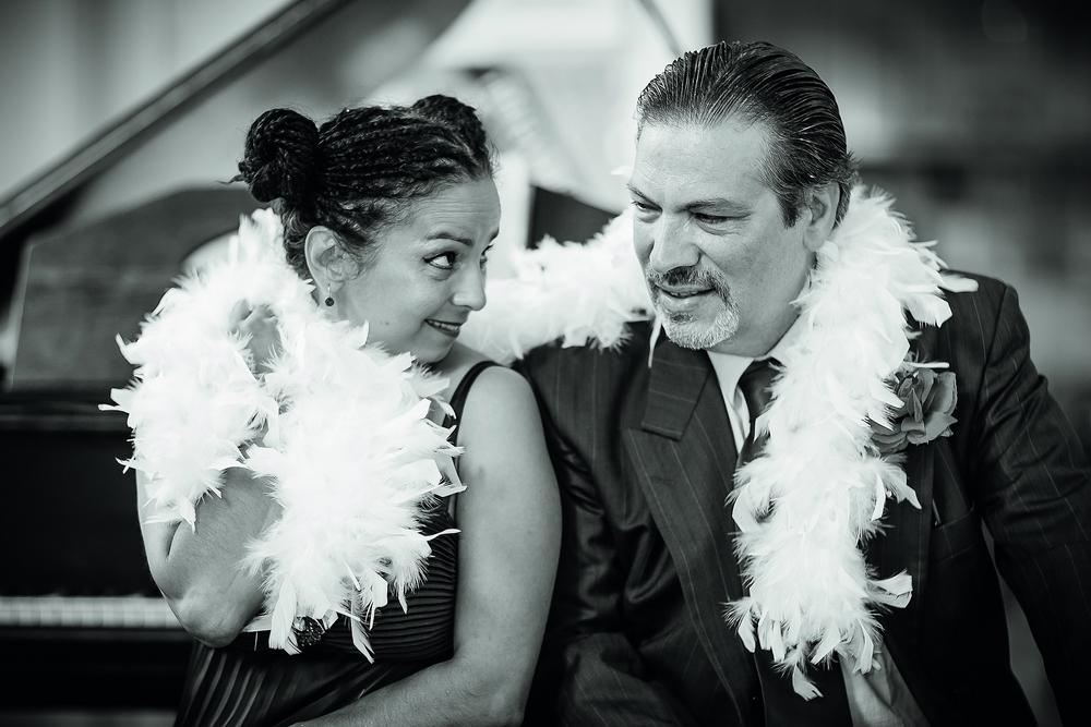 Lola Bolze und Jorge Idelsohn
