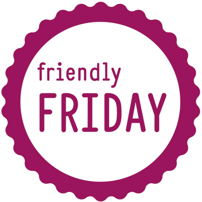 Friendly Friday Logo lila