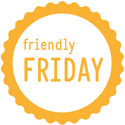 Friendly Friday Logo gelb