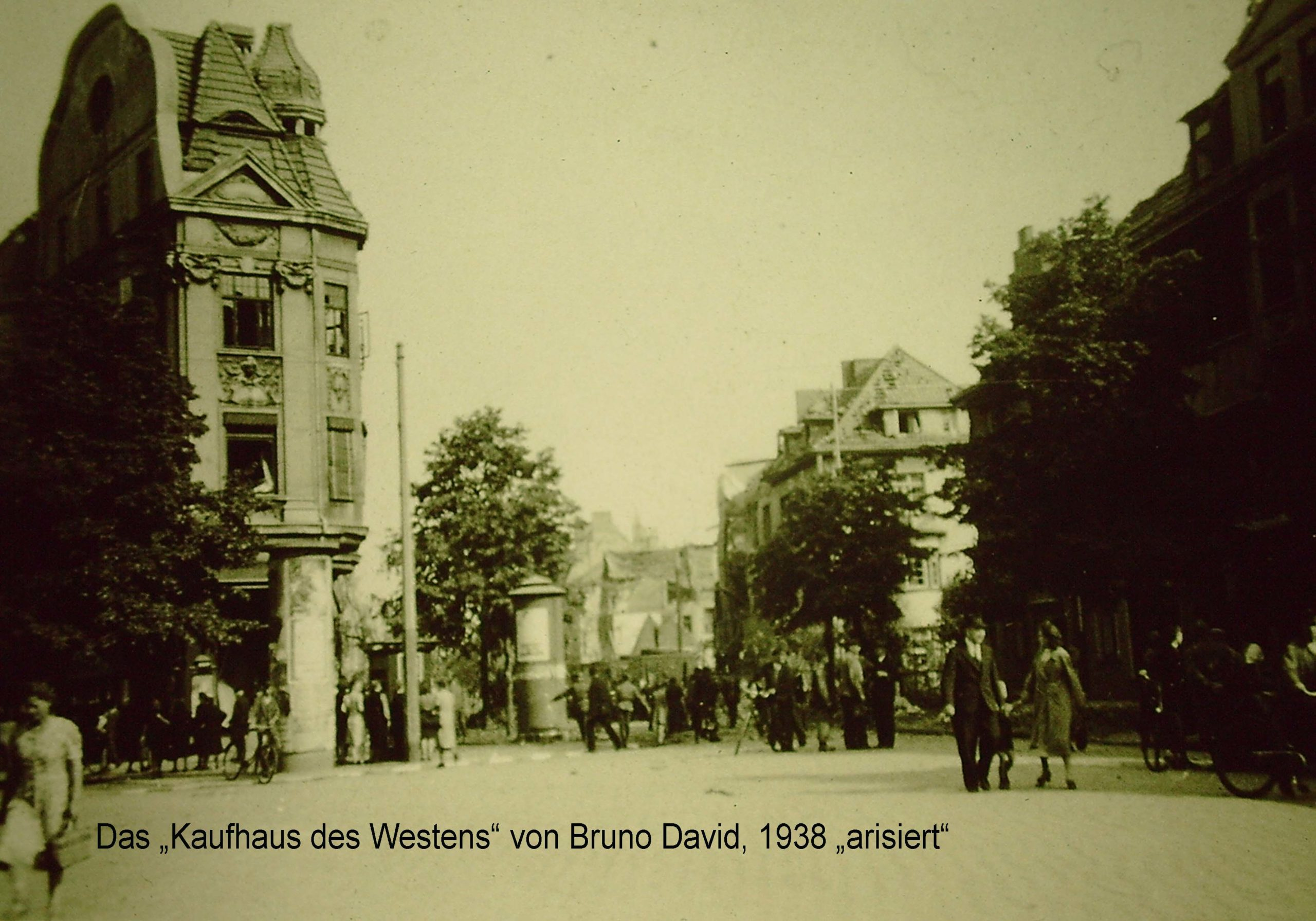 Kaufhaus des Westens von Bruno David 1938