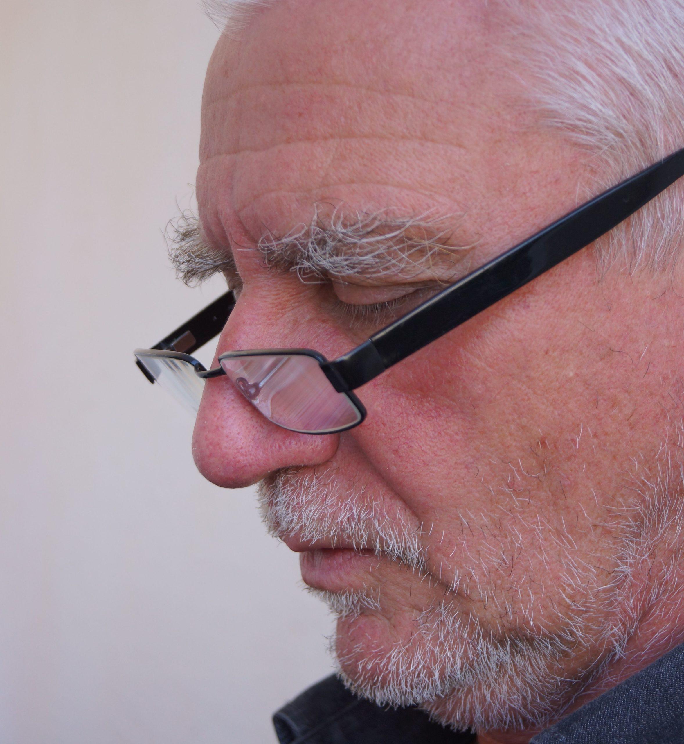 Wilfried Stüven liest vor