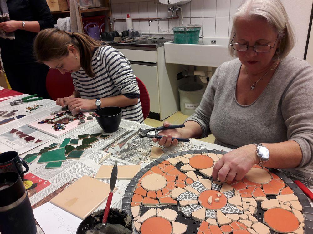 Mosaikwerkstatt für Erwachsene