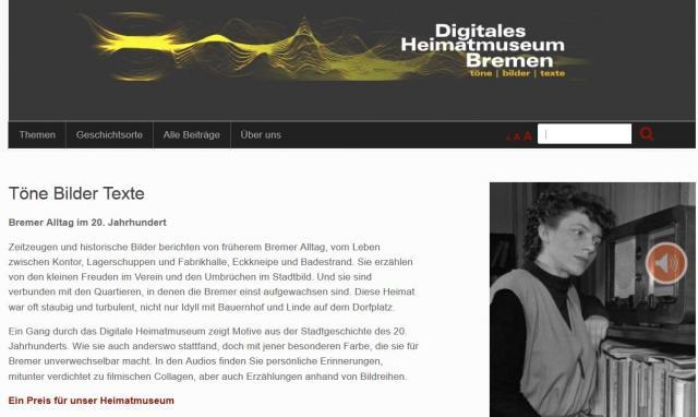 Digitales Heimatmuseum Bremen